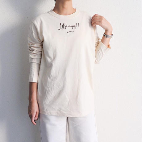 Original long Tshirt【adult】(Let's enjoy!!)
