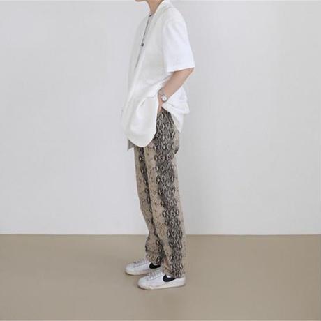 【order only/送料込】Python straight pants