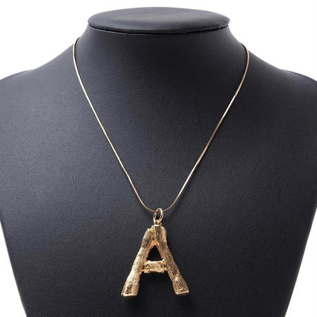 【即納/送料込】alphabet necklace(Y/H)
