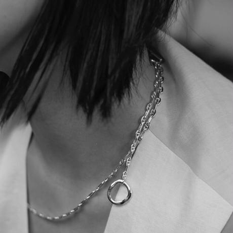 【Nothing And Others/ナッシングアンドアザーズ】 Design Chain Necklace