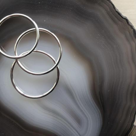 【送料込/1000yen】silver925 simple ring