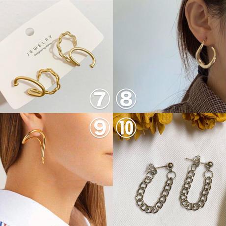 【送料込1500yen】Silver925 earrings #2