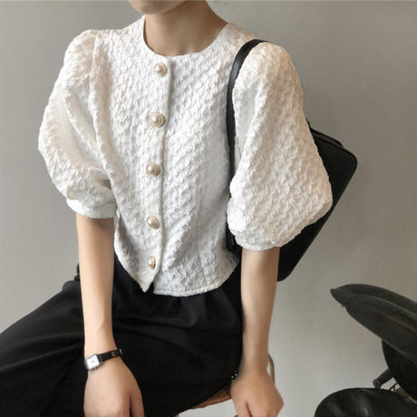 puff&half sleeve tops