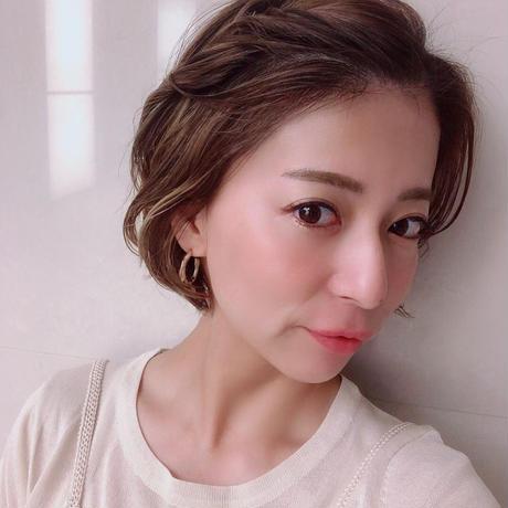 【送料込1900yen】silver925 foop earring