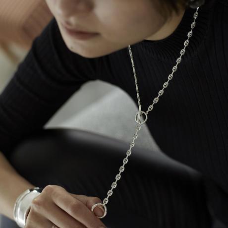 【即納】【Nothing And Others/ナッシングアンドアザーズ】 Design Chain Necklace