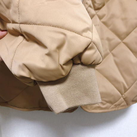 【order only】no collar quilting jacket