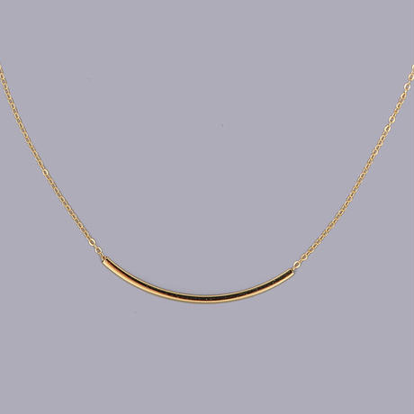 【送料込2500yen】silver925 smile necklace