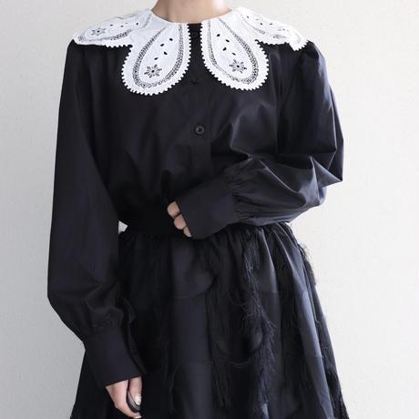 bi-color blouse