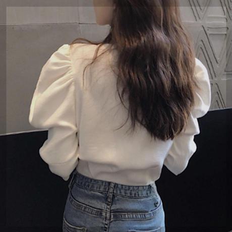 【¥2,000 即納&送料無料】Volume shoulder cardigan