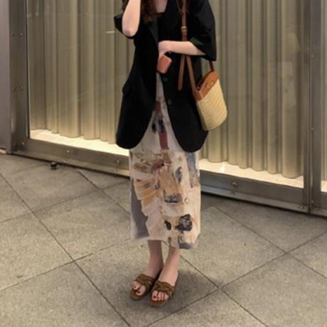 nuance straight skirt