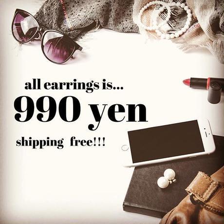 【送料込】990yen earrings