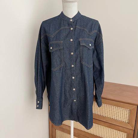 6.5oz / denimシャツ
