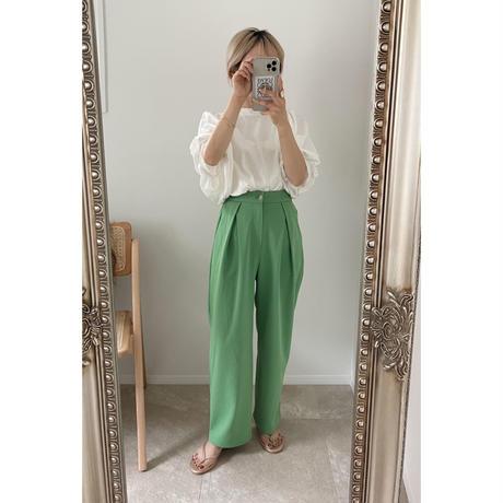 《AMIE original》 tuck pants 4color