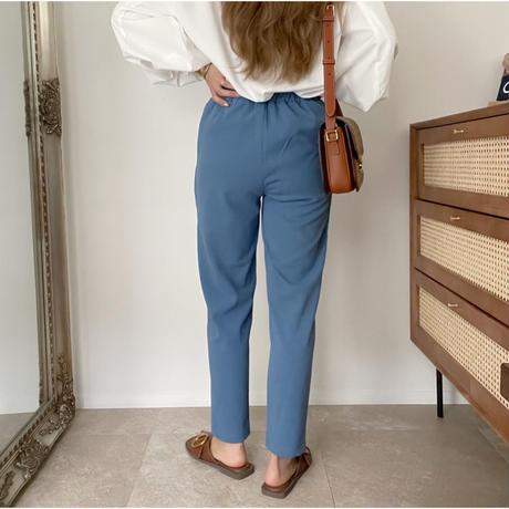 《AMIE original》テーパードpants/blue