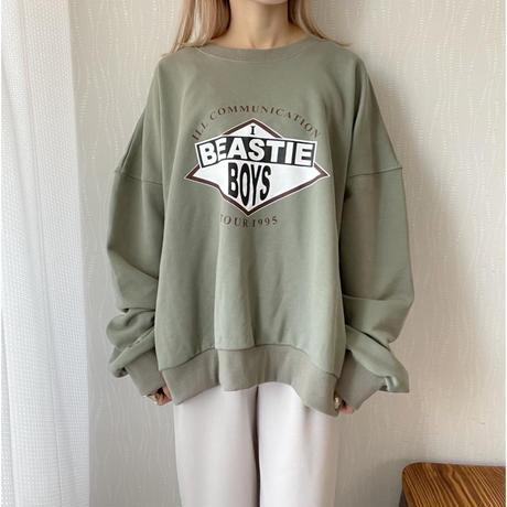 《AMIE original》BEASTIE  pullover