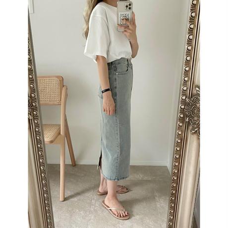 《AMIE original》denim skirt
