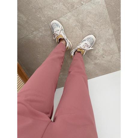 《AMIE original》テーパードpants/pink