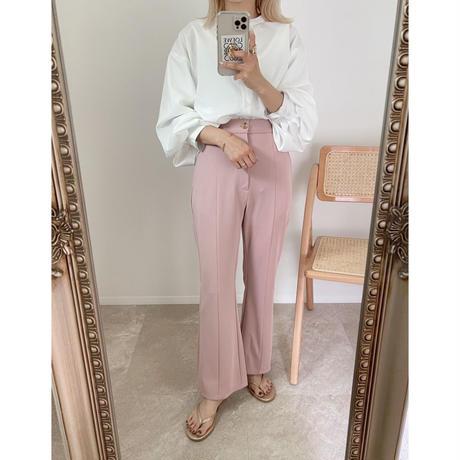 《AMIE original》フレアpants ピンク