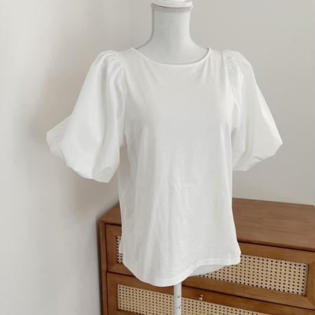 【ゆうパケット◎】ボリューム袖 Tshirt