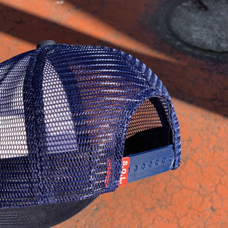 Selection of life. Mesh Cap Navy
