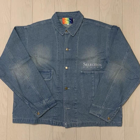 Selection of life. Denim Coverall BLEACH