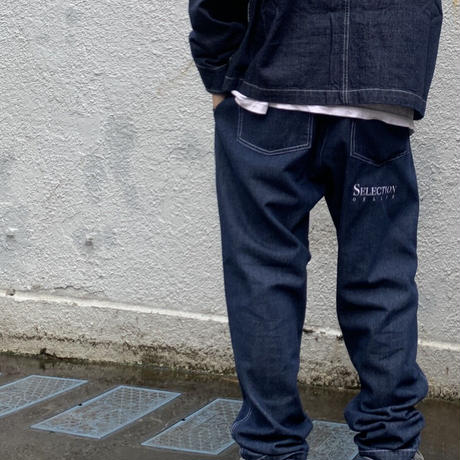 Selection of life. Denim Pants INDIGO