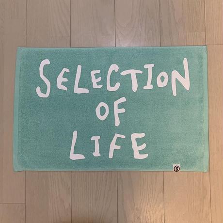Selection of life. 2nd Brand LOGO Bath Mat ICEGREEN