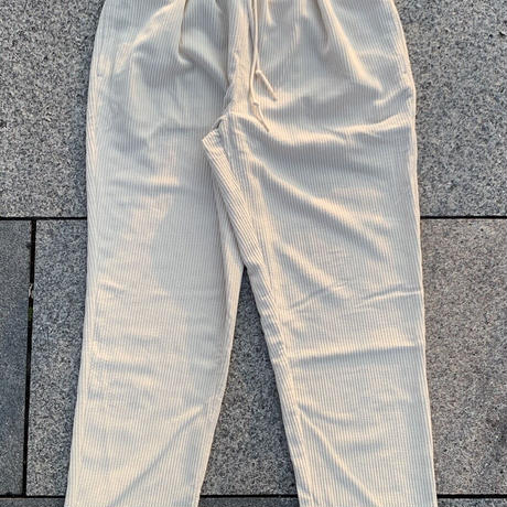 Selection of life. Corduroy Pants LIGHT BEIGE