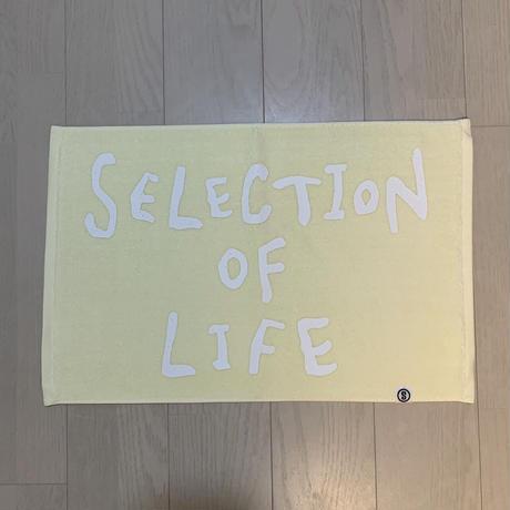 Selection of life. 2nd Brand LOGO Bath Mat CREAM