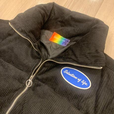 Selection of life. Corduroy Jacket BLACK