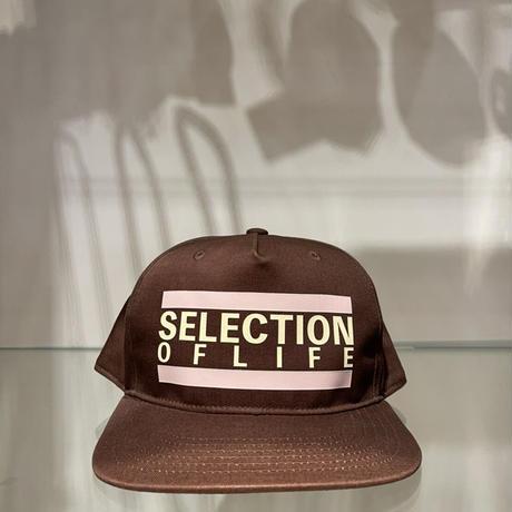 Selection of life. Bold Line LOGO Cap CAMEL