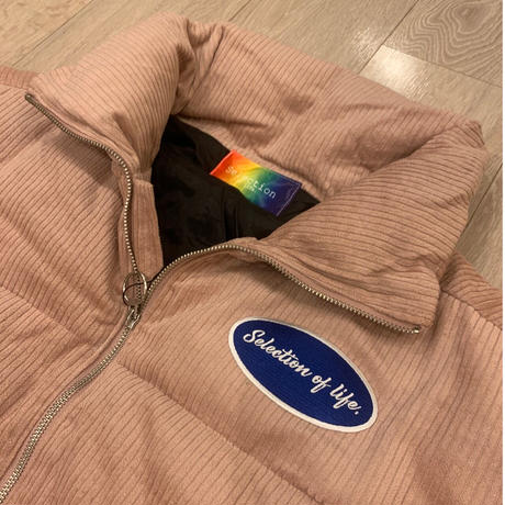 Selection of life. Corduroy Jacket LIGHT PINK