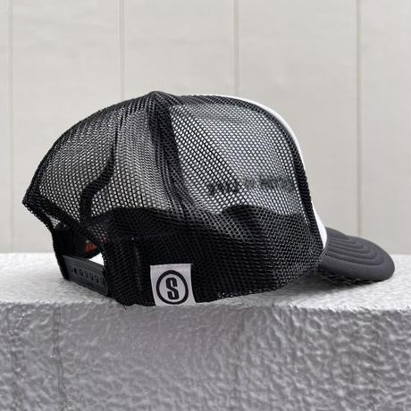Selection of life. 2nd Brand LOGO Mesh Cap BLACK