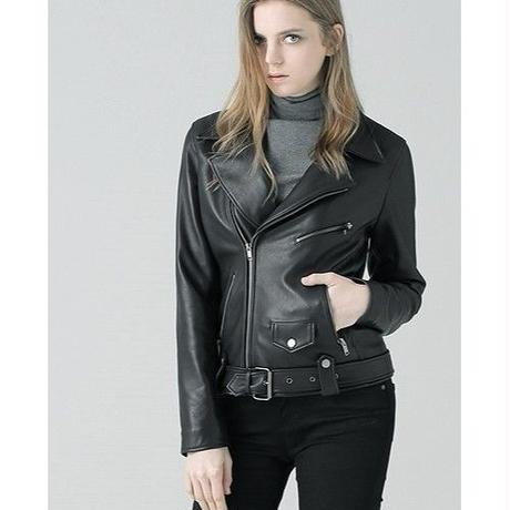 PLAIN LEATHER JACKET
