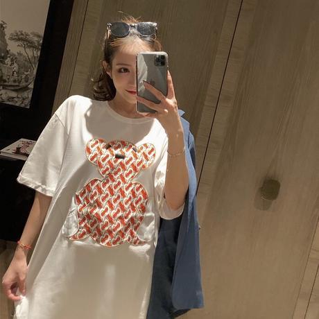デザインベアー オーバーTシャツ 2色展開