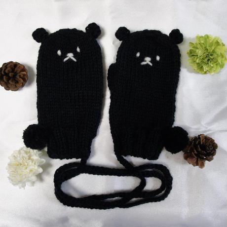 クロクマさん キッズ手袋