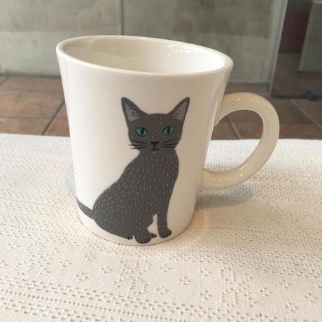 猫柄カップ