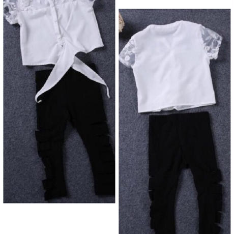 Baby Girl set  T-shirt&pencil  pants