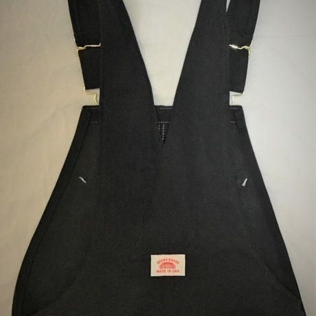 Round House Made in USA Heavy Duty Black Duck Bib Overalls