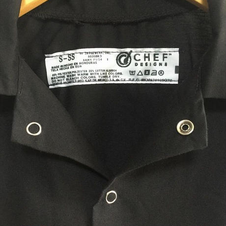RED KAP Chef Designs Cook Shirt ( Black )