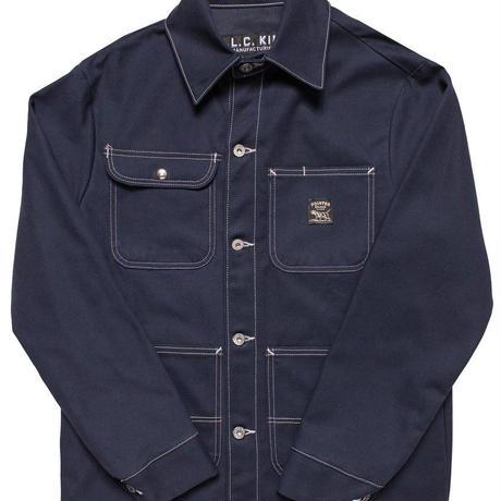 Pointer Brand Navy Duck Chore Coat ( Size M , L )