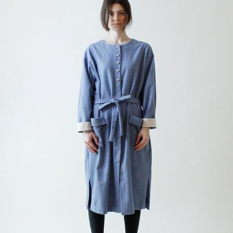MAGALI コート・ワンピース/ブルー
