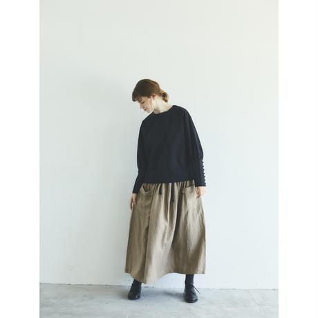 オールドコットン・プルオーバー/ブラック