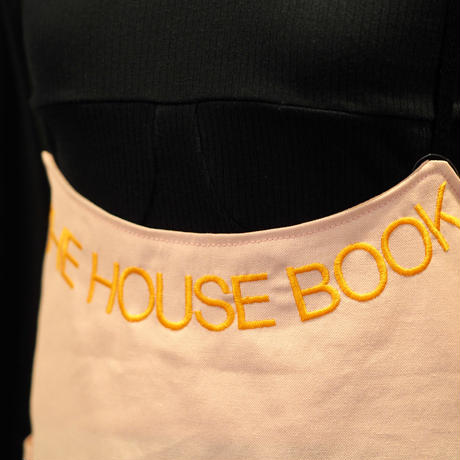 QFD THE HOUSE BOOK エプロンドレス/pink