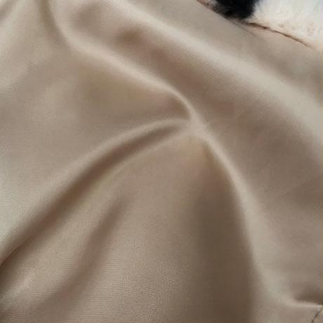 アニマル柄ファーコート