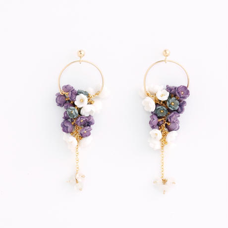 Mimosa small Earringsピアス/Ear clipsイヤリング