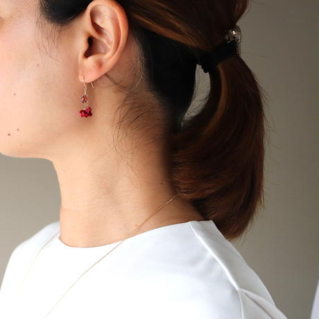 AKANE Drop  Earrings /short ピアス