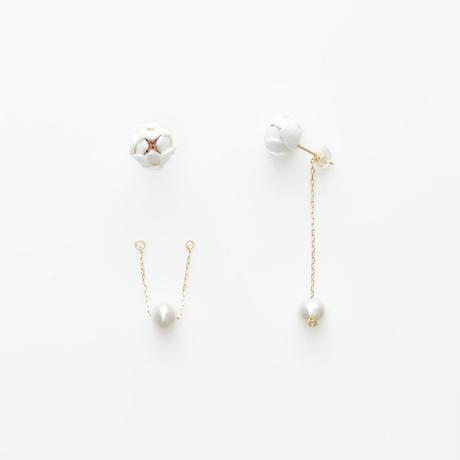 Tsubomi  Earrings   - peal 1 - ピアス