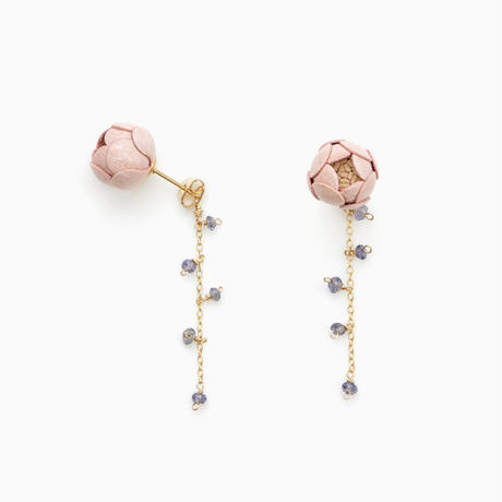 Ichirin Earrings ・EarClip イヤリング / sakura