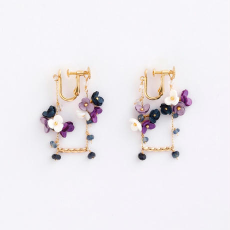 SWING short Earringsピアス/Ear clipsイヤリング